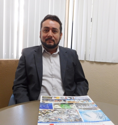 el Ingeniero Jaime Martínez presenta el programa de energía y eficiencia UNUSEA 350